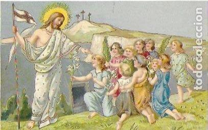 P-12316. POSTAL ILUSTRACION RELIGIOSA. PRINCIPIOS S.XX. (Postales - Postales Temáticas - Religiosas y Recordatorios)
