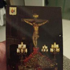 Postales: SEMANA SANTA VALLADOLID CRISTO PRECIOSA SANGRE ED ESCVDO ORO 33 SC. Lote 243911255