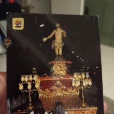 Postales: SEMANA SANTA VALLADOLID CRISTO PERDON ED ESCVDO ORO 188 SC. Lote 243911415