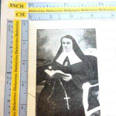 Postales: RECORDATORIO RELIGIOSO SEMANA SANTA. AÑOS 40 60. HIJAS PATROCINIO MARÍA CÁJAR GRANADA. AMALIA CEA 14. Lote 244528625