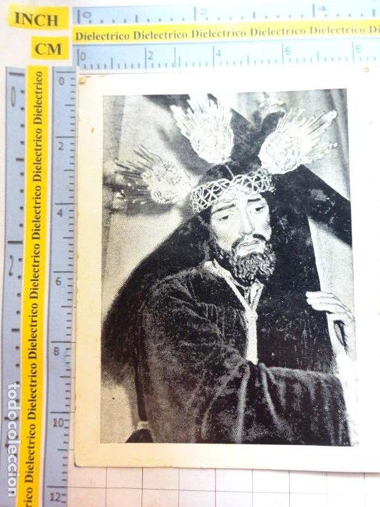 RECORDATORIO RELIGIOSO SEMANA SANTA. AÑO 1973. CABRA CÓRDOBA. BESAMANOS JESÚS DE LAS NECESIDADES. 16 (Postales - Postales Temáticas - Religiosas y Recordatorios)