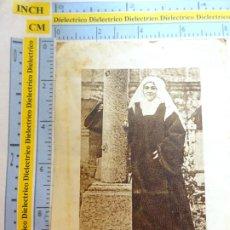 Postales: RECORDATORIO RELIGIOSO SEMANA SANTA. AÑO 1947 SANTA TERESITA DEL NIÑO JESÚS. OBRA PONTIFICIA. 18. Lote 244529135
