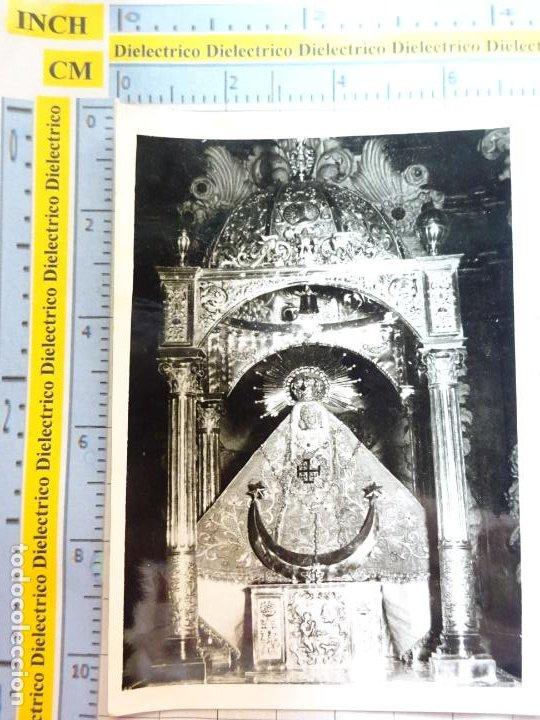 RECORDATORIO RELIGIOSO SEMANA SANTA. AÑO 1966. FOTO FOTOGRAFÍA VIRGEN REMEDIOS DE CÁRTAMA. 19 (Postales - Postales Temáticas - Religiosas y Recordatorios)
