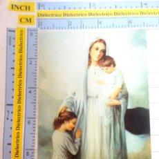 Postales: RECORDATORIO RELIGIOSO SEMANA SANTA. AÑOS 50 70. PEGATINA DE LA VIRGEN DEL PATROCINIO. 21. Lote 244529545