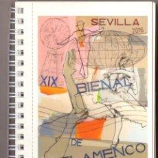 Postales: XIX BIENAL DE FLAMENCO. COLECCIÓN BIENAL DE FLAMENCO SEVILLA 1980-2016 - A-FLA-1024. Lote 245974325