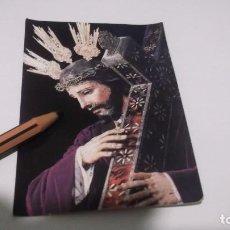 Postales: RECUERDO DEL BESAPIE A NTRO.PADRE JESÚS NAZARENO - 1902-UTRERA (SEVILLA) FOTO ESTUDIOS HARETON. Lote 247635525