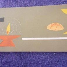 Postales: ESTAMPA DEL DIA DEL AMOR FRATERNO AÑO 1963. Lote 250274415
