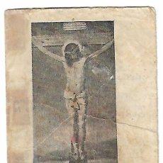 Postales: ROSARIO DE LAS SANTAS LLAGAS DE NUESTRO SEÑOR JESUCRISTO O DE LA MISERICORDIA, AÑOS 50 VER MAS FOTOS. Lote 251506815