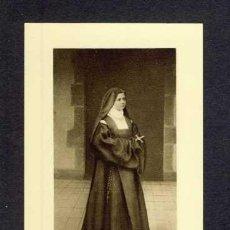 Cartes Postales: ESTAMPA RELIGIOSA CON RELIQUIA: LA SIERVA SOEUR ELISABETH DE LA TRINITÉ. Lote 254340705