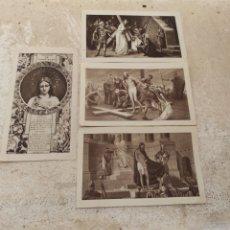 Postales: RECUERDOS SANTA MISIÓN - IGLESIA NUESTRA SEÑORA DEL PILAR - BONREPOS Y MIRAMBELL - VALENCIA 1945. Lote 254449695