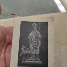Postales: ESTAMPA RELIGIOSA SAN NICOLÁS DE BARI - CAMINATA DE TRES LUNES - VENERADO PARROQUIA DE VALENCIA. Lote 254451355
