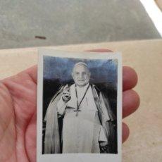 Postales: ESTAMPA RELIGIOSA JUAN XXIII - ANTIGUOS ALUMNOS SALESIANOS - BURRIANA - CASTELLÓN 1959. Lote 254452145