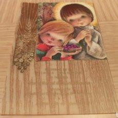 Postales: ESTAMPILLAS RELIGIOSA DE COMUNIÓN - 1974. Lote 254452880