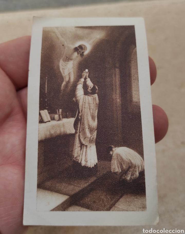 Postales: Estampa Religiosa - Novel Sacerdote Salesiano Vicente Peris Muñoz - Primera Misa - Valencia - 1935 - Foto 3 - 254455025