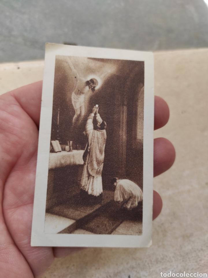 ESTAMPA RELIGIOSA - NOVEL SACERDOTE SALESIANO VICENTE PERIS MUÑOZ - PRIMERA MISA - VALENCIA - 1935 (Postales - Postales Temáticas - Religiosas y Recordatorios)