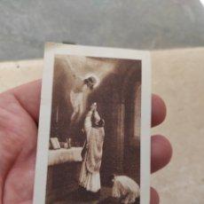 Postales: ESTAMPA RELIGIOSA - NOVEL SACERDOTE SALESIANO VICENTE PERIS MUÑOZ - PRIMERA MISA - VALENCIA - 1935. Lote 254455025