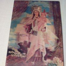 Postales: POSTAL RELIGIOSA DE LA VIRGEN DEL CARMEN ES REVERSIBLE DOS CARAS - Nº 256 - DE ESCUDO DE ORO. Lote 254529785