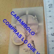Postales: PUEBLA DEL MAESTRE PARROQUIA BADAJOZ 1958 ESTAMPA RECORDATORIO C75. Lote 257314115