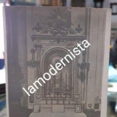 Postales: ANTIGUA FOTOGRAFIA RELIGIOSA VIRGEN DE LAS MERCEDES IGLESIA DE SAN MILLAN MADRID. Lote 259832105