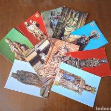 Postales: LOTE 10 POSTALES VÍRGENES. VARIADAS.. Lote 261951860