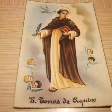 Postales: ANTIGUA TARJETA POSTAL S. TOMAS DE AQUINO 1957 - CIRCULADA. Lote 262297285