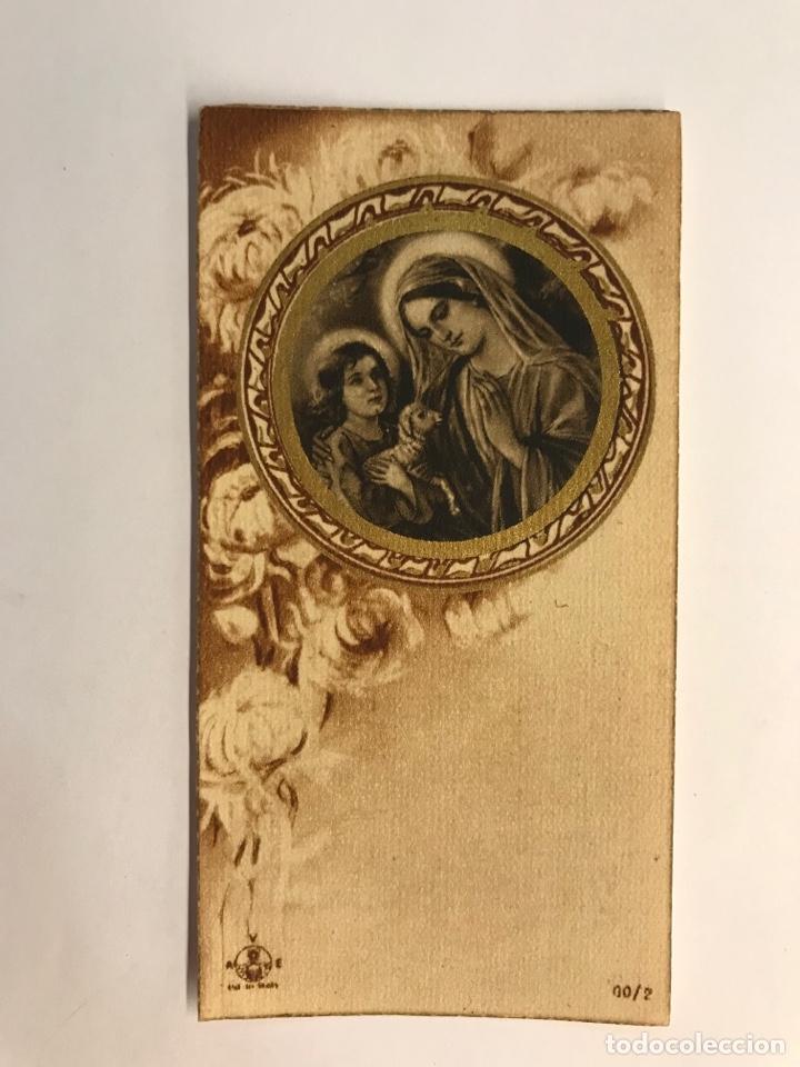 RÉCORD DELS EXERCICIS ESPIRITUALS DE LES FILLES DE MARIA L'HOPITALET (A.1935) (Postales - Postales Temáticas - Religiosas y Recordatorios)