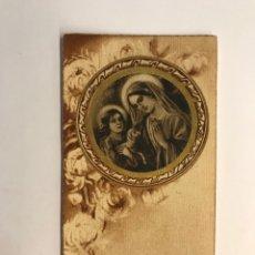 Postales: RÉCORD DELS EXERCICIS ESPIRITUALS DE LES FILLES DE MARIA L'HOPITALET (A.1935). Lote 262813465