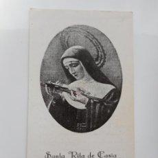 Postales: RECUERDO COMUNION GENERAL.SANTA RITA DE CASIA 1937. Lote 262821555