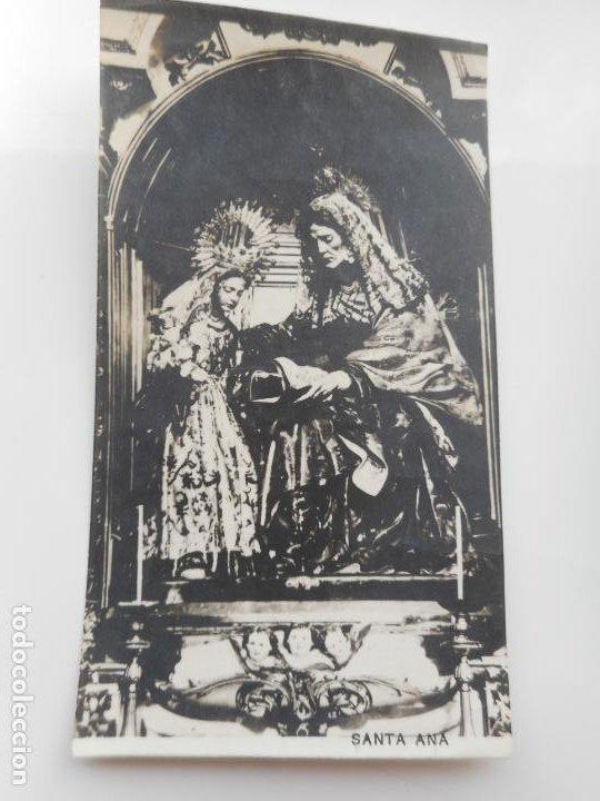 RECUERDO DEVOTA NOVENA.IGLESIA DEL SALVADOR.SANTA ANA.SEVILLA 1926 (Postales - Postales Temáticas - Religiosas y Recordatorios)