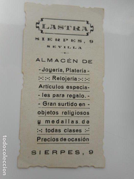 Postales: ANTIGUA ESTAMPA SAN IGNACIO.LASTRA.ALMACEN JOYERIA.REGALOS.SEVILLA - Foto 2 - 262822090