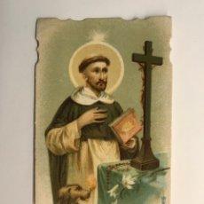 Postales: SANTO DOMINGO. ESTAMPA RELIGIOSA TROQUELADA (H.1930?). Lote 262885125