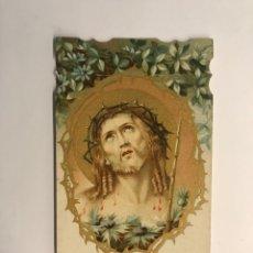Postales: ECCE HOMO. ESTAMPA RELIGIOSA TROQUELADA. NO.309, (H.1930?). Lote 262887320