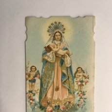 Postales: SANTÍSIMA VIRGEN DE LA PURIFICACIÓN. ESTAMPA RELIGIOSA TROQUELADA (H.1930?). Lote 262887875