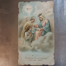 Postales: ESTAMPITA REGINA ANGELORUM, ORA PRO NOBIS. FENOLLEDA VALENCIA. 1920S 1940S. Lote 263201925