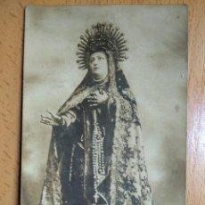Cartoline: AVILA. SANTA TERESA DE JESÚS. SEGUN SE VENERA. LIBRERIA CATÓLICA. POSTAL FOTOGRÁFICA.. Lote 263558670