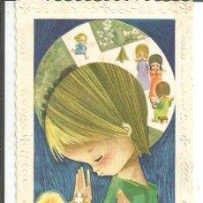 Postales: RECORDATORIO COMUNON *SALMONS* - PONT DE SUERT 1965. Lote 264024990