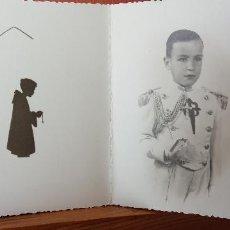 Postales: NIÑO EN COMUNIÓN 1965. RECORDATORIO PRIMERA COMUNION. CIRCULADO. RECORDATORIO RELIGIOSO. Lote 264308652