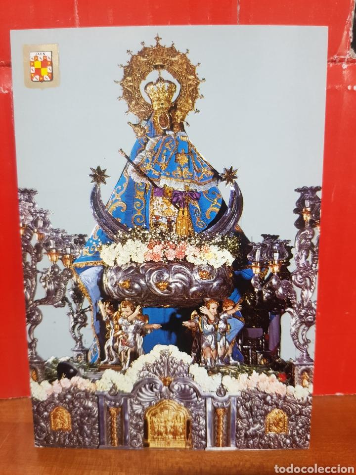 POSTAL - JAÉN SANTISIMA VIRGEN DE LA CAPILLA N°1239 ESCUDO DE ORO (Postales - Postales Temáticas - Religiosas y Recordatorios)