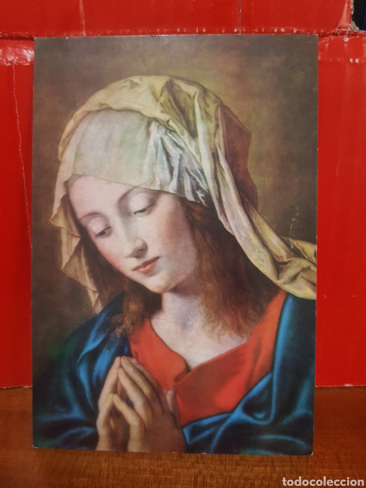 POSTAL - LA VIRGEN DE SASSOFERRATO (Postales - Postales Temáticas - Religiosas y Recordatorios)