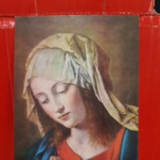 Postales: POSTAL - LA VIRGEN DE SASSOFERRATO. Lote 264523994