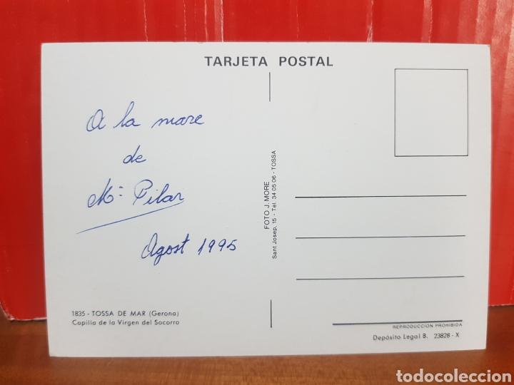 Postales: POSTAL - TOSSA DE MAR - CAPILLA DE LA VIRGEN DEL SOCORRO N°1835 - Foto 2 - 264526809
