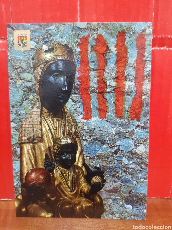 POSTAL - VIRGEN DE MONTSERRAT N°39 - ESCUDO DE ORO (Postales - Postales Temáticas - Religiosas y Recordatorios)