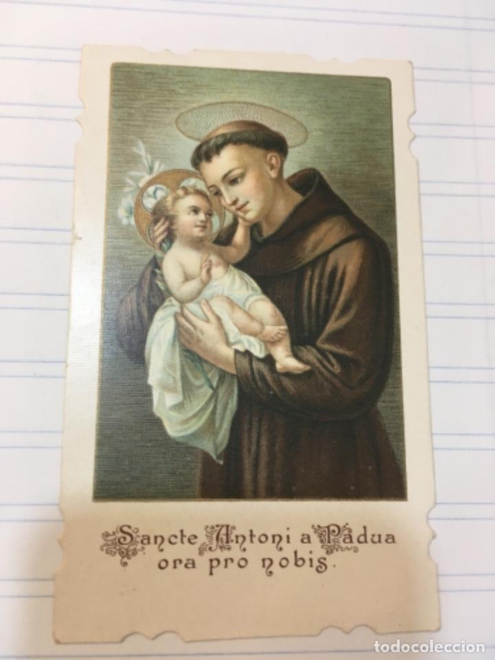 ESTAMPA SAN ANTONIO DE PADUA (Postales - Postales Temáticas - Religiosas y Recordatorios)