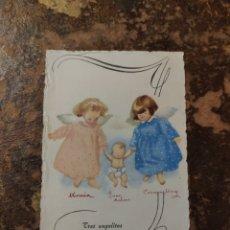 Postales: POSTAL TRES ANGELITOS (RELIGIOSA). Lote 269982253