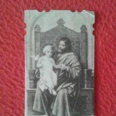 Postales: TARJETA ESTAMPA RELIGIOSA RELIGIOSO TERCER DOLOR Y GOZO DE SAN JOSE EST. LA MILAGROSA BARCELONA..VER. Lote 270087393