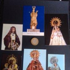 Postales: LOTE DE 13 ESTAMPAS RELIGIOSAS. VER FOTOS.. Lote 270107648