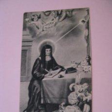 Postales: ESTAMPA RELIGIOSA. SANTA LUISA DE MARILLAC. 11X6 CM.. Lote 271661468