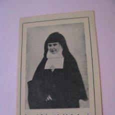 Postales: ESTAMPA RELIGIOSA. DIPTICA. BEATA RAFAELA. 1954. 12X8 CM.. Lote 271669388