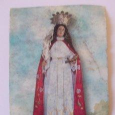 Postales: ANTIGUA ESTAMPA RELIGIOSA SANTA TECLA A GUARDIA. Lote 275197808