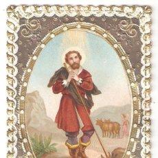 Cartes Postales: ESTAMPA TROQUELADA DE SAN ISIDRO LABRADOR.. Lote 275245833